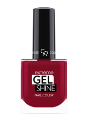 Golden Rose Extreme Gel Shine Nail Lacque, No. 64, Red