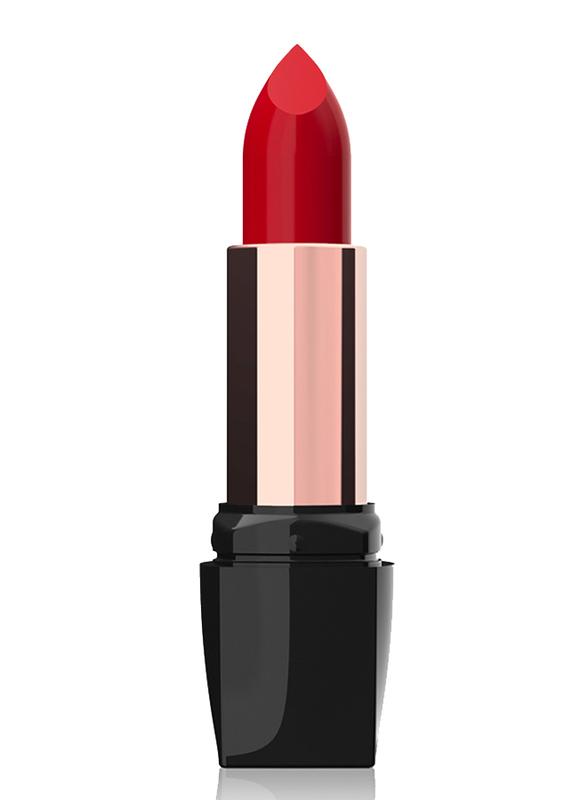 Golden Rose Satin Soft Creamy Lipstick, No. 24, Red