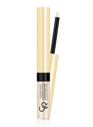 Golden Rose Long Stay Highlighter Shimmer Eyeshadow, No. 01, Beige
