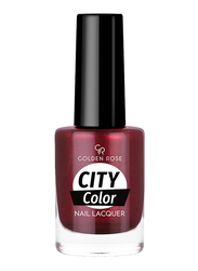 Golden Rose City Color Nail Lacquer, No. 57, Red