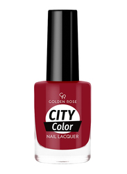 Golden Rose City Color Nail Lacquer, No. 44, Red