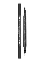 Golden Rose Stylist Duo Liner 2-in-1 Eyeliner Pen, Black