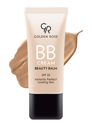 Golden Rose BB Cream Beauty Balm, 06 Dark, Beige