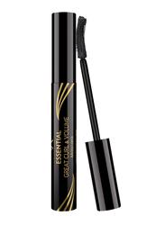 Golden Rose Essential Great Curl & Volume Mascara, Black