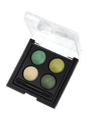 Golden Rose Wet & Dry Eyeshadow Palette, No. 05, Multicolor