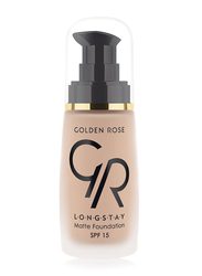 Golden Rose Longstay Liquid Matte Foundation, No. 05, Beige