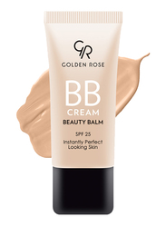 Golden Rose BB Cream Beauty Balm, 03 Natural, Beige