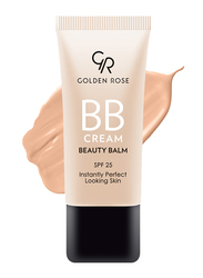 Golden Rose BB Cream Beauty Balm, 02 Fair, Beige
