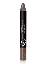 Golden Rose Glitter Waterproof Eyeshadow Crayon, No. 54, Brown