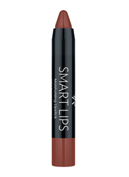 Golden Rose Smart Lips Moisturizing Lipstick, No. 07, Brown