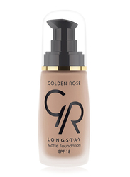 Golden Rose Longstay Liquid Matte Foundation, No. 10, Brown
