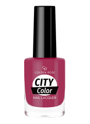 Golden Rose City Color Nail Lacquer, No. 30, Red