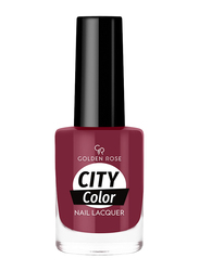Golden Rose City Color Nail Lacquer, No. 45, Red