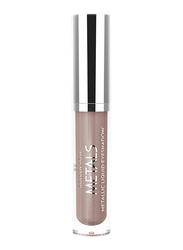 Golden Rose Metals Metallic Liquid Eyeshadow, 105 Mink, Pink