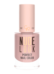 Golden Rose Nude Look Perfect Nail Color, No. 02 Pinky Nude, Beige