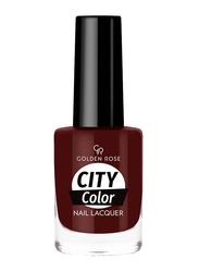 Golden Rose City Color Nail Lacquer, No. 49, Brown