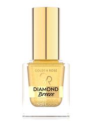 Golden Rose Diamond Breeze Shimmering Nail Color, No. 01 24K Gold, Gold