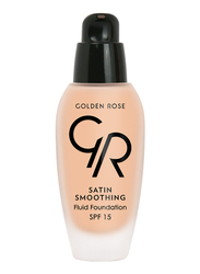 Golden Rose Satin Smoothing Fluid Foundation, No. 26, Beige