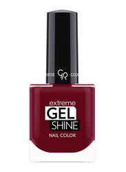 Golden Rose Extreme Gel Shine Nail Lacque, No. 66, Red