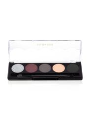 Golden Rose Professional Palette Eyeshadow, 109 Smokey Eyes, Multicolor