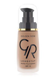 Golden Rose Longstay Liquid Matte Foundation, No. 13, Brown