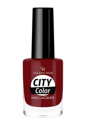 Golden Rose City Color Nail Lacquer, No. 47, Red