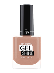 Golden Rose Extreme Gel Shine Nail Lacque, No. 10, Brown