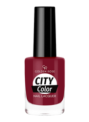 Golden Rose City Color Nail Lacquer, No. 46, Red