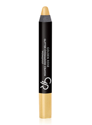 Golden Rose Glitter Waterproof Eyeshadow Crayon, No. 53, Gold