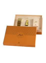 Ahmed Al Maghribi Perfumes 3-Piece Mubakhar Gift Set Unisex, Mubhakar 3ml Concentrated Perfume Oil, Doudh Mubhakar, Oudh Mubhakar
