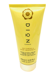 Dion London Nectarine & Ruby Grapefruit Hand & Nail Cream, 100ml
