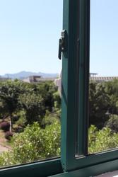 Vee Seven Child Protective Sliding Window Lock, White