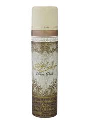 Lattafa Khalis Pure Oudi Air Freshener Spray, 300ml
