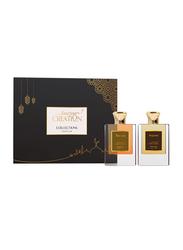 Amazing Creation 2-Pieces Perfume Gift Set for Men, Toscana 50ml EDP, Argento 50ml EDP