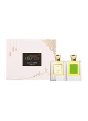 Amazing Creation 2-Pieces Perfume Gift Set Unisex, Seta 50ml EDP, Foresta 50ml EDP