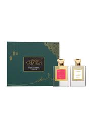 Amazing Creation 2-Pieces Perfume Gift Set for Women, Tuberosa 50ml EDP, Holy Florale 50ml EDP