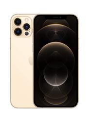 Apple iPhone 12 Pro 256GB Gold, With FaceTime, 6GB RAM, 5G, Single Sim Smartphone, Japan Specs