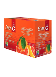 Ener-C Vitamin C Tangerine Grapefruit Multivitamin Drink Mix, 1,000mg, 30 Sachets, 274.8gm