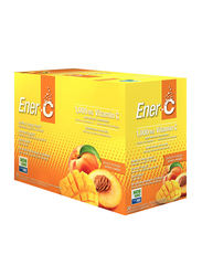 Ener-C Vitamin C Peach Mango Multivitamin Drink Mix, 1,000mg, 30 Sachets, 274.8gm