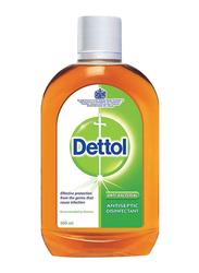 Dettol Anti-Bacterial Antiseptic Disinfectant Liquid, 500ml