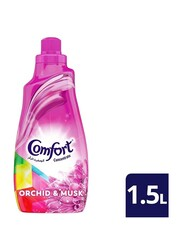Comfort Concentrate Orchid and Musk Fabric Softeners, 1.5 Liter