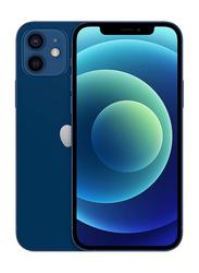 Apple iPhone 12 256GB Blue, With FaceTime, 4GB RAM, 5G, Dual Sim Smartphone, Japan Specs
