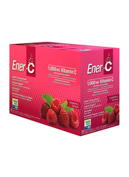 Ener-C Vitamin C Raspberry Multivitamin Drink Mix, 1,000mg, 30 Sachets, 274.8gm