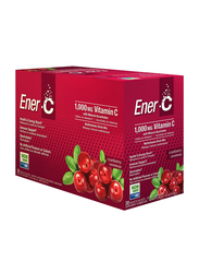 Ener-C Vitamin C Cranberry Multivitamin Drink Mix, 1,000mg, 30 Sachets, 274.8gm