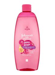 Johnson's 500ml Shiny Drops Shampoo, with Drop of Argan Oil for Kids