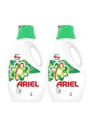 Ariel Top & Front Load Original Scent Automatic Power Gel Laundry Detergent, 2 Bottles x 2 Liter