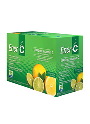 Ener-C Vitamin C Lemon Lime Multivitamin Drink Mix, 1,000mg, 30 Sachets, 274.8gm