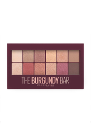 Maybelline New York The Burgundy Bar 13 Looks In 1 Eye Shadow Palette, 9.6gm, Multicolor