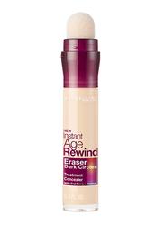 Maybelline New York Instant Age Rewind Eraser Dark Circles Treatment Concealer, 6ml, 110 Fair, Beige