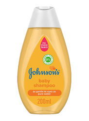 Johnson's 200ml Baby Shampoo, Free from Parabens, Alcohol, & Dyes